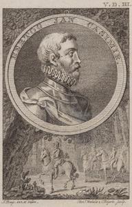 Portret van Johan Casimir van de Palts (1543-1592)