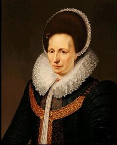 Portret van Catharina de Rechtere (1567-....)