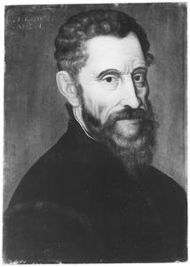 Portret van de kunstenaar Michelangelo (1475-1564)