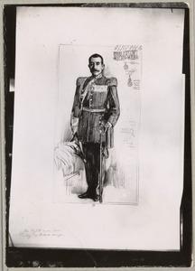 Portret van Willem Joannes Petrus van den Bosch (1848-1914)