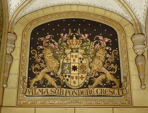 Het wapen van koningin Emma der Nederlanden