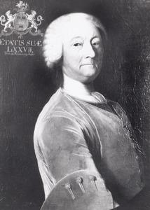 Portret van waarschijnlijk Watze Wytze van Cammingha (1682-1764)