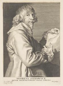 Portret van Hendrik van Steenwijck II (1580- voor 1640)