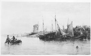 Op de Maas bij Dordrecht