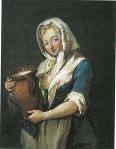 Meisje met een melkkan