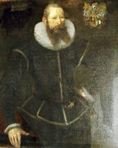 Portret van Gerbrand Ornia, echtgenoot van Titia Tritzum