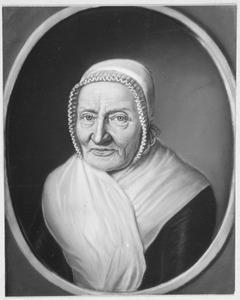 Portret van Aleyda Sibilla Tjaden (1724-1811)