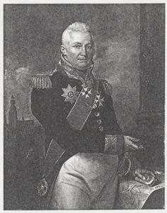 Portret van Andries Hendrik Jan van der Plaat (1761-1819)