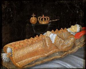 Christiaan IV op zijn doodsbed