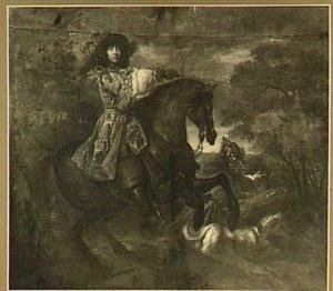 Ruiterportret van Johan Ortt (1642-1701), heer van Breukelen en Nijenrode