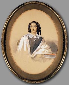 Portret van Joanna Salm (1832-1862)