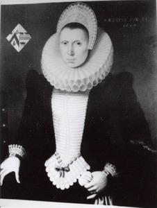 Portret van mogelijk St. Michiel