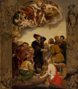 Hulde van Antwerpen aan P.P. Rubens