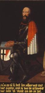 Portret van Albert Vorst