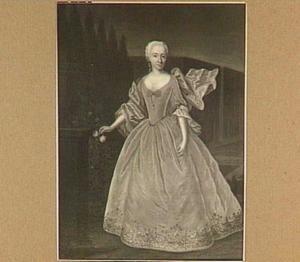 Portret van Geertruyde Elbertine Verschoor (1707-1784)