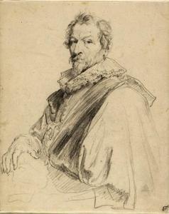 Portret van Hendrick van Balen I (1575-1632)