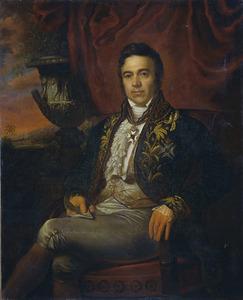 Portret van Jean Crétien Baron Baud, gouverneur-generaal ad interim 1833-1835