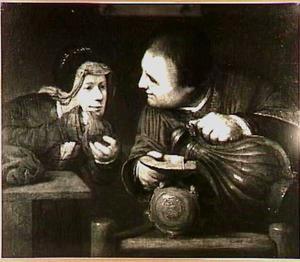 Elia vult de potten van de weduwe met olie (2 Koningen 4:1-7)