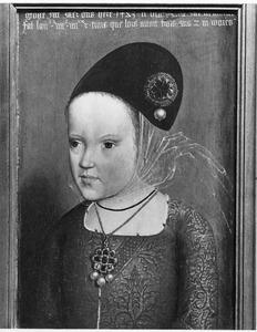 Portret van Margaretha van Oostenrijk