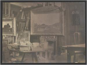 Het atelier van Geo Poggenbeek
