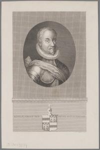 Portret van Adolf van Nieuwenaar en Meurs (1540-1589)