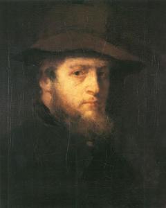 Portret van de schilder Victor Müller (1829-1871)