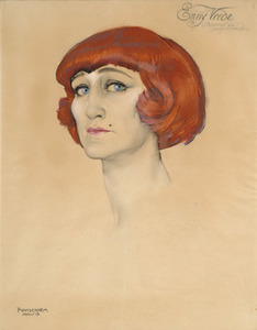 Portret van Maria Magdalena Muller (1883-1919)