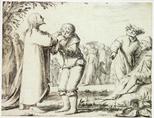Christus geneest een jongeman