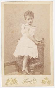 Portret van Cornelia Johanna Sara Quarles van Ufford (1884-1979)