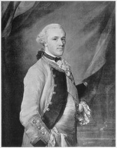 Portret vanJoseph Yorke, Lord Dover  (1724-1792)