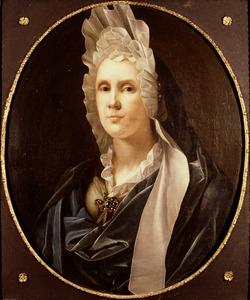 Portret van Christina Pompe (1647-1722)