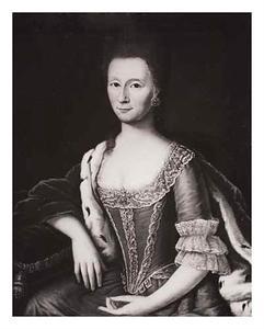 Portret van Alexandrine Charlotte van Wersterholt (1724-1778)