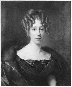 Portret van Agnes Henriette van Loon (1800-1879)