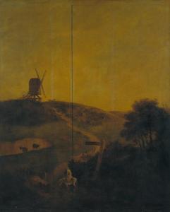 Windmolen in de omgeving van Norwich