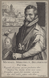 Portret van Michiel Jansz. van Mierevelt (1567-1641)