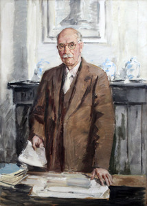 Portret van dr. A.L.J. Sunier