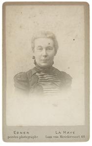 Portret van S. de la Bassecour Caan