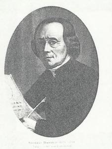 Portret van Gijsbert Blokhuis (1725-1799)