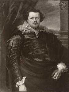 Portret van een lid van de familie De Nieuwenhove op 30-jarige leeftijd