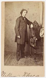 Portret van een persoon genaamd Willem Klercq (1834-1907)