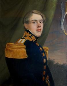 Portret van Warner Willem van Doorninck (1818-1856)