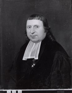 Portret van Jodocus Heringa (1765-1840)