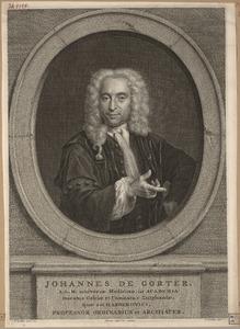 Portret van Johannes de Gorter (1689-1762)
