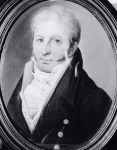Portret van Robbert August Adolph Maurits Carel van Heeckeren van Molecaten (1770-1838)