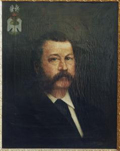 Portret van Cornelis Lucas Conradus Willem Picke (1834-1885)