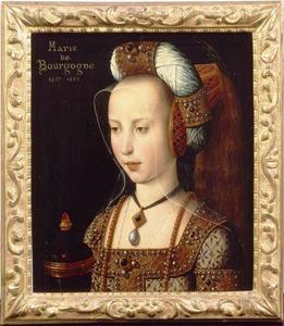 Portret van een vrouw, waarschijnlijk Margaretha van Oostenrijk (1480-1530), als Maria Magdalena,