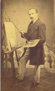 De kunstenaar Nicolaas Riegen (1827-1889)