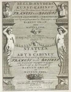 Tweede titelprent van het Beeld-snijders kunst-kabinet (pl. II)