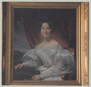 Portret van Catharina Johanna Susanna van Bijnkershoek van Hoogstraten (1816-1871)