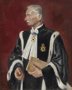 Portret van Witius Hendrik de Savornin Lohman (1864-1932)